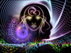 Astral Knowledge - stock illustration