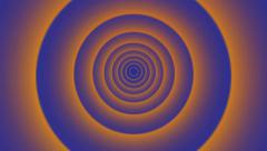 Speed ring tunnel,energy Halo transmission,Geometric abstract background. Stock Footage