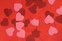 Valentines day background - stock photo