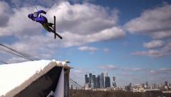 Freestyle Skii Stock Footage