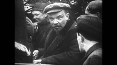 1919-1938 Lenin 06 - And Stalin Under Folk Stock Footage