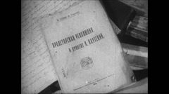 1919-1938 Lenin 08 - Documents and Property Stock Footage
