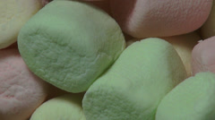Marshmallows, Sugary Treats, Candy Stock Footage