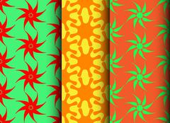 colorfull pattern - stock illustration
