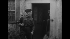 WW2 Allies Soldiers 03 Mixed clips of Soldiers going to war, Combat & Invasion Stock Footage