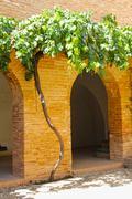 Garden of Alhambra Stock Photos