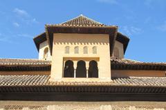 Alhambra palace in Granada - stock photo