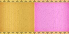 Thai style complex orange and pink card board texture Stock Illustration