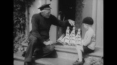 WW2 British Civil Life 17 Daily Life, Mixed Activities and Clips Stock Footage