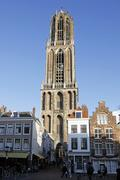 Stock Photo of Tower of the Dom in Utrecht