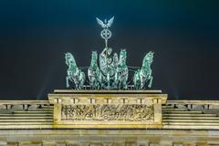 Stock Photo of Brandenburg Gate in Berlin - Germany