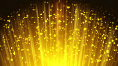 Gold Particles Stock Footage