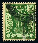 Postage stamp. Stock Photos