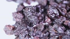 Raisins - stock footage