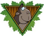 Stock Illustration of gorilla safari icon