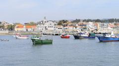 Cascais bay, portugal Stock Footage