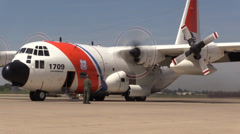 US Coast Guard, Military air operations Stock Footage