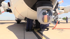 US Coast Guard, Military, support crew Stock Footage