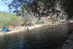 Praia Fluvial Penedo Furado - stock photo