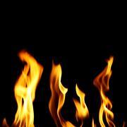 Inferno fire Stock Photos