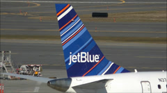 JetBlue Airlines Logo Stock Footage