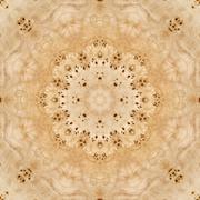 Seamless pattern, veneer poplar root Stock Illustration