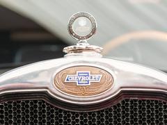 1928 Chevrolet National 2D Sign Close Up Stock Photos