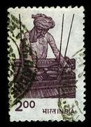Stock Photo of postage stamp.