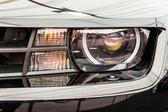 Chevrolet Camaro Close Up - stock photo