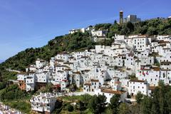 Andalusian village Stock Photos