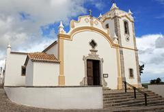 Church in Vila do Bispo, Algarve, Portugal - stock photo