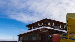 Alaska YELLOW TIMELAPSE Panning h264-420 1080p HQ Stock Footage