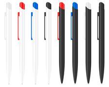 ballpoint pen 3 - stock illustration