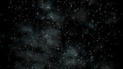 Steam particles,Underwater black dirt dust world,transparent smog,smoky haze. Stock Footage