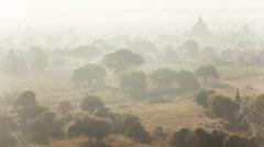 Bagan Morning Time Lapse Stock Footage
