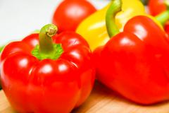 Stock Photo of bulgarian pepper red