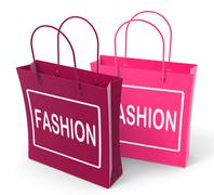 Stock Illustration of fashion bags represent fashionable and trendy products