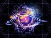 Stock Photo of Eye of artificial intelligence