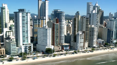 City of Balneario Camboriu - Aerial Shot4 Stock Footage