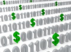 Stock Illustration of data mining
