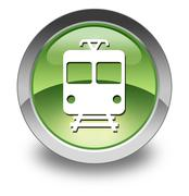 "Icon/button/pictogram ""train / mass transit"" Stock Illustration"