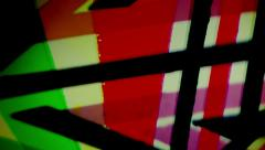 Background of colorful lines. Stock Footage