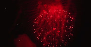 Stock Video Footage of 4K Firework display composition from several clips