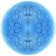 Stock Illustration of Spherical structure