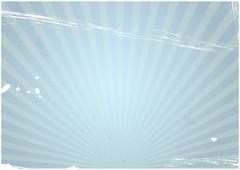 Illustration of vintage old background with sunburst Stock Illustration