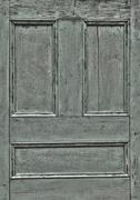 HDR wooden door detail – crackly pant Stock Photos