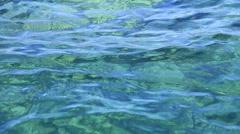 Sea, ocean and clean water waves - stock footage