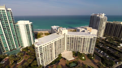Aerial video of Bal Harbour Stock Footage