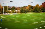 Stock Photo of Football field