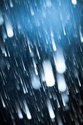 Asteroid Rain - stock photo